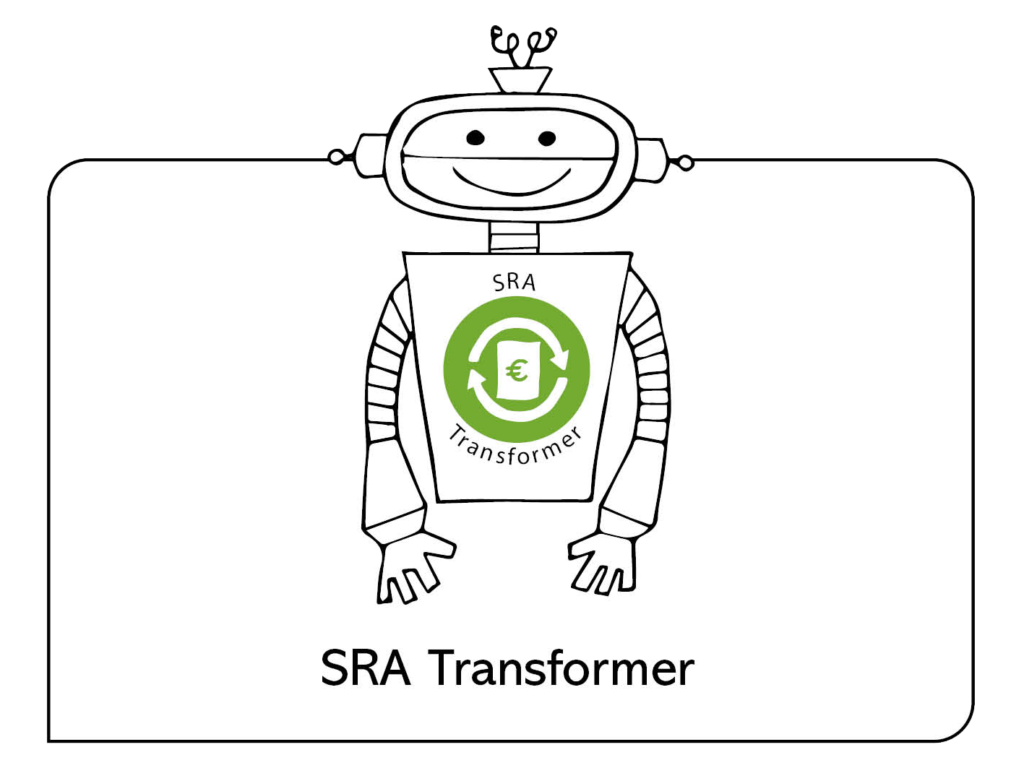SRA Transformer | Solid Robotic Accounting | Financiele administratie | Financial administration | Financiele software | Financial software