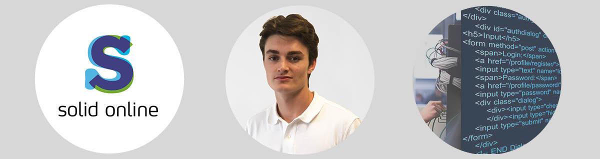 Junior consultant Taron start bij Solid Online